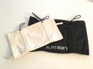 Puma Ledertasche weiß