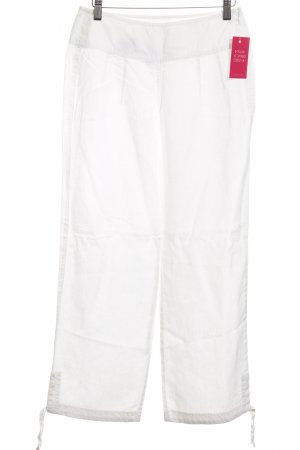 Puma Linen Pants white simple style