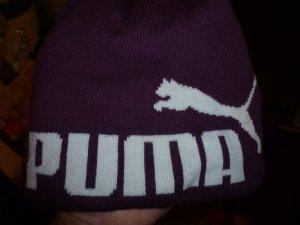 Puma Mütze Beani Wintermütze Flieder