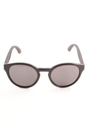 Puma ovale Sonnenbrille schwarz Casual-Look