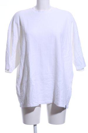 Puma Camisa holgada blanco look casual