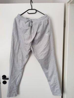 Puma Pantalon de sport gris clair tissu mixte