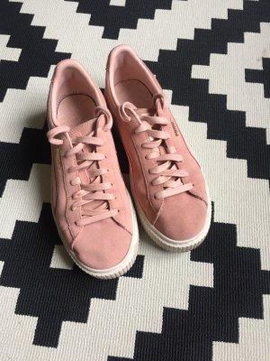 PUMA Plateau-Sneaker Suede Platform