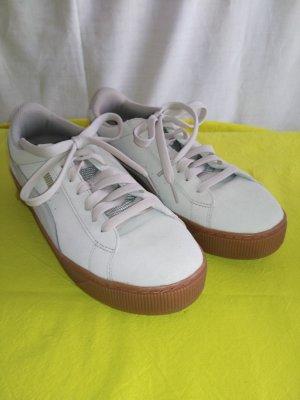 Puma High Top Sneaker white-oatmeal