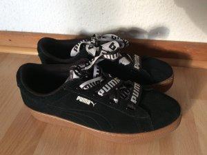 Puma Plattform Sneaker in Schwarz