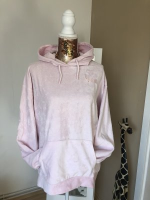 Puma Jersey con capucha rosa empolvado