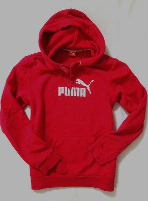 Puma Pullover Sweater Kapuze rot Gr. 42 L/XL