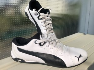 Puma Racing Cat Black/white
