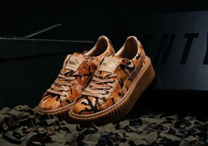 Puma Rihanna Fendi Creeper Camou: Special Limited Collection