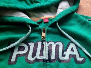 Puma S Hoodie mintgrün Ipodfach hinten Joggen