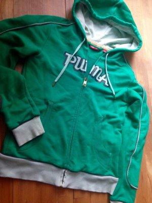 Puma S retro Hoodie mintgrün Ipodfach