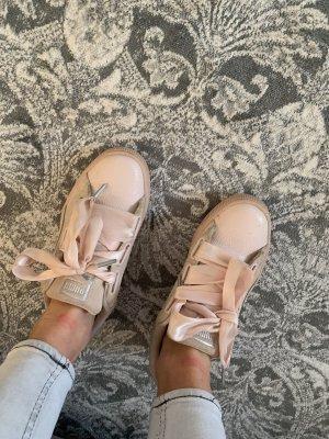 Puma Satin Sneaker rose