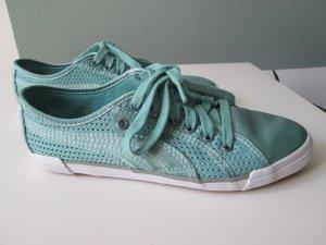 Puma Satin Sneakers mintgrün Sommersneakers Gr.36