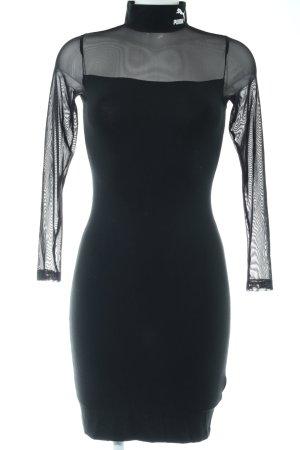 Puma Vestido de tubo negro look casual