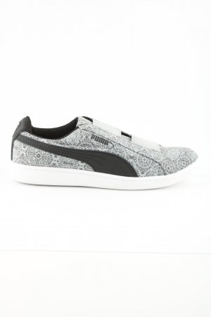 Puma Slip-on Shoes light grey-black abstract pattern casual look