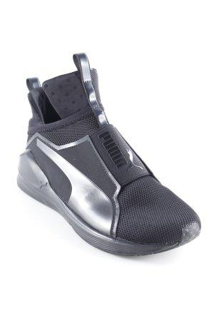 Puma Schlüpfsneaker schwarz sportlicher Stil