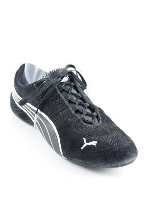 Puma Schlüpfsneaker schwarz-weiß sportlicher Stil