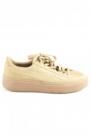Puma Schnürschuhe beige Casual-Look
