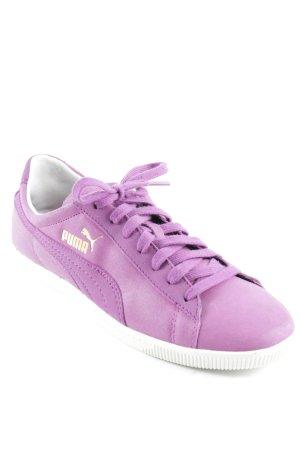 Puma Schnürschuhe violett Casual-Look