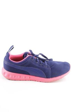 Puma Schnürsneaker blau-pink Casual-Look