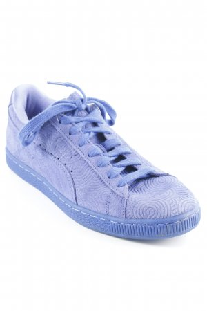 Puma Lace-Up Sneaker blue abstract pattern street-fashion look