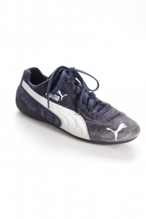 Puma Schnürsneaker dunkelblau sportlicher Stil