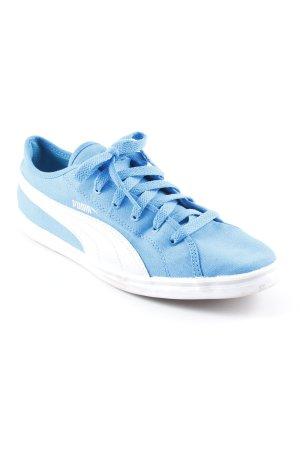 Puma Schnürsneaker neonblau sportlicher Stil