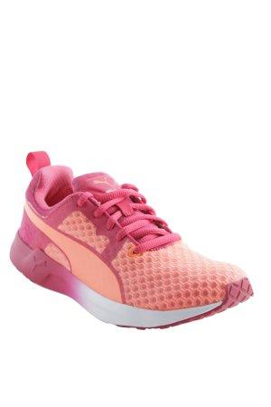 Puma Schnürsneaker pink-orange sportlicher Stil