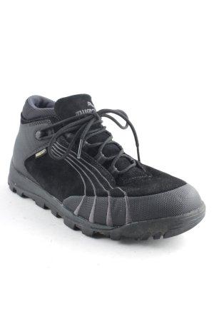 Puma Schnürsneaker schwarz-dunkelgrau sportlicher Stil