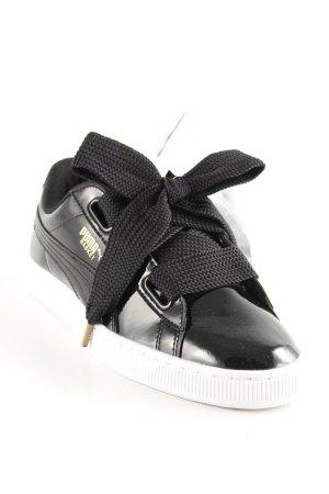 Puma Sneakers met veters zwart-wit casual uitstraling