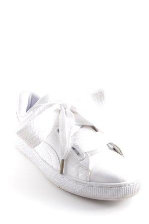 Puma Sneakers met veters wit elegant