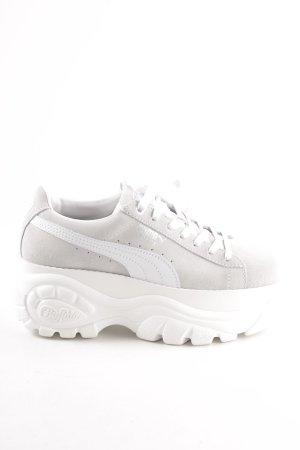 Puma Schnürsneaker weiß-hellgrau sportlicher Stil