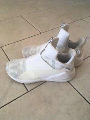 Puma High Top Sneaker white