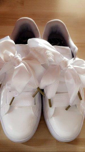 Puma Schuhe weiß Gold