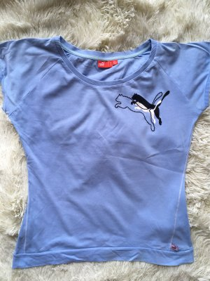 Puma Shirt in Blau mit Logo