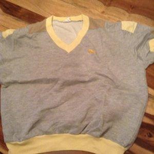 Puma Shirt oldstyle grau gelb