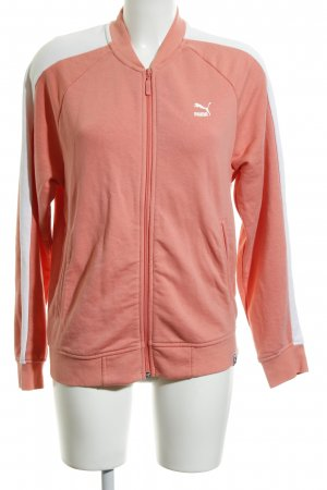 Puma Shirt Jacket salmon-white casual look