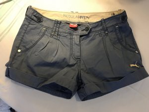 Puma Shorts, Gr. 34, blau, guter Zustand