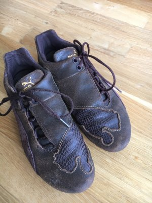 Puma Lace-Up Sneaker brown