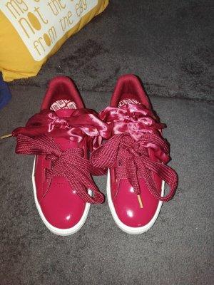 Puma Sneaker 'Basket Heart Womens' in weinrot Größe 39 - NEU!!