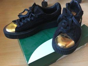Puma Sneakers gold-colored-black