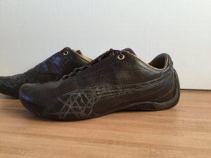 Puma Sneaker, braun mit goldenen Details
