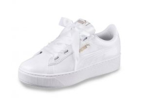 Puma Lace-Up Sneaker white-rose-gold-coloured