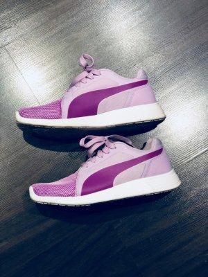 Puma Sneaker flieder lila weiß