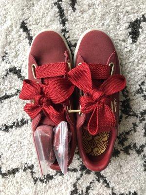 Puma Lace-Up Sneaker dark red-carmine