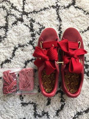 Puma Lace-Up Sneaker carmine-dark red