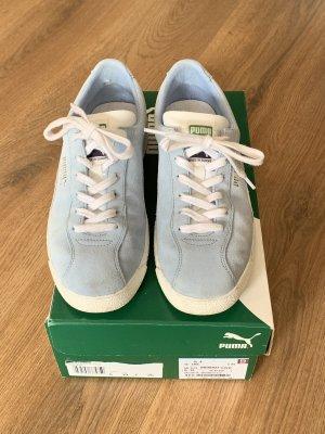 Puma Sneaker hellblau weiß 39 OVP Breuninger Ceru Leder Te-Ku Prime