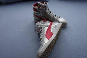 Puma Sneaker High Silber