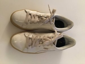 Puma Sneaker in weiß/silber, Gr. 38