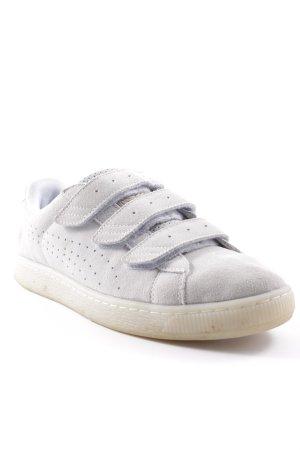 Puma Basket velcro beige clair style décontracté